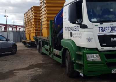 container transport in manchester by trafford haulage ltd