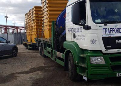 trafford haulage truck