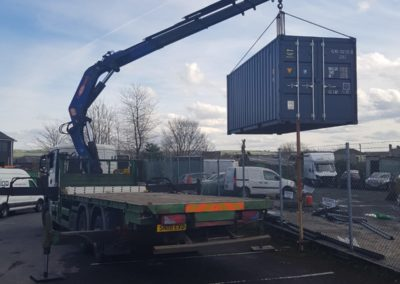 another successful job for container transport in manchester